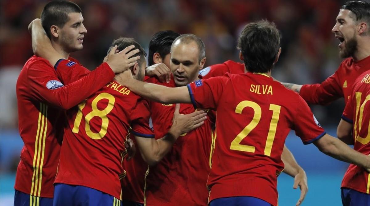España busca la segunda victoria