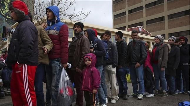 El Olympiacos se vuelca con los refugiados sirios