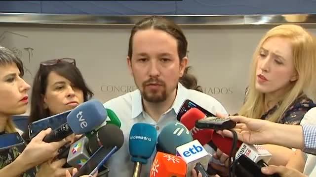 "Iglesias: ""A Ramón Espinar l'ataquen per debilitar-me a mi"""