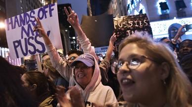 Protestes a ciutats dels EUA contra la victòria de Trump