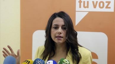 """Arrimadas acusa Puigdemont de viure un 'déjà vu' i Albiol avisa de les conseqüències de la """"confrontació"""""""
