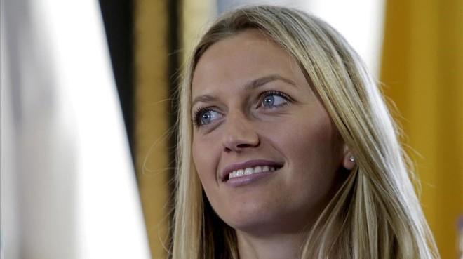 La tenista checaPetra Kvitova.