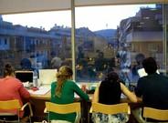 Barcelona pondrá a la disposición de los estudiantes una treintena de salas de estudios en varios puntos de la ciudad hasta el 22 de junio.