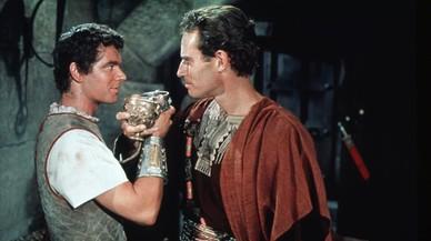 Stephen Boyd y Charlton Heston en 'Ben-Hur' de William Wyler.