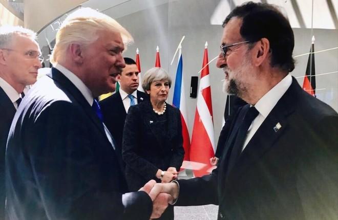 Rajoy intenta cerrar una visita a Trump en la Casa Blanca antes del 1-O
