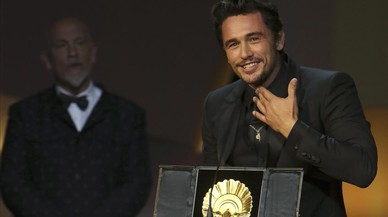 San Sebastián premia a James Franco
