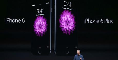 Nuevos iPhone 6.