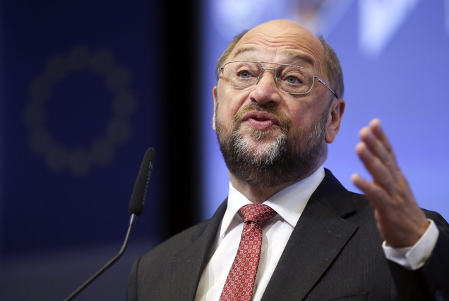 El presidente del Parlamento Europeo, Martin Schulz.