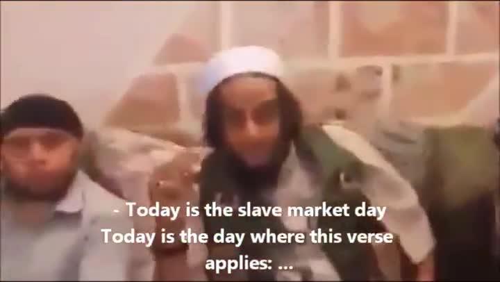 Mercado de esclavas yazidis