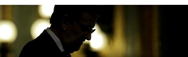 Rajoy, en el Congreso, esta ma�ana.