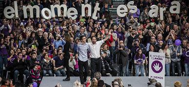"""Pablo Iglesias: """"Empieza la cuenta atr�s para Mariano Rajoy"""""""