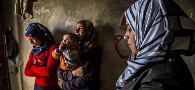 Las mujeres, el eslab�n m�s d�bil de las guerras