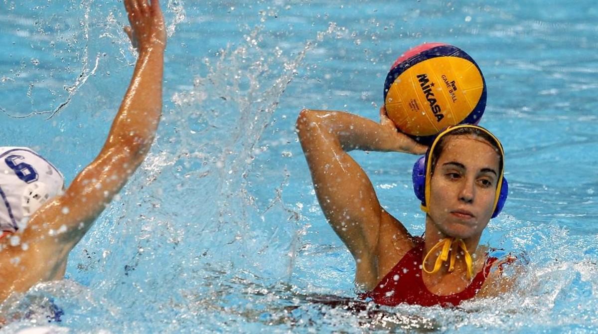 La jugadora de la selección Ani Espar.