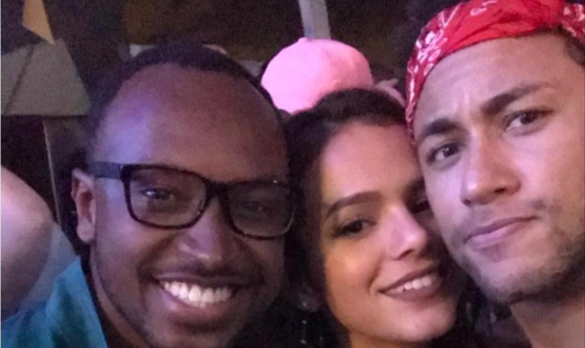 Neymar i la seva última festa al Brasil