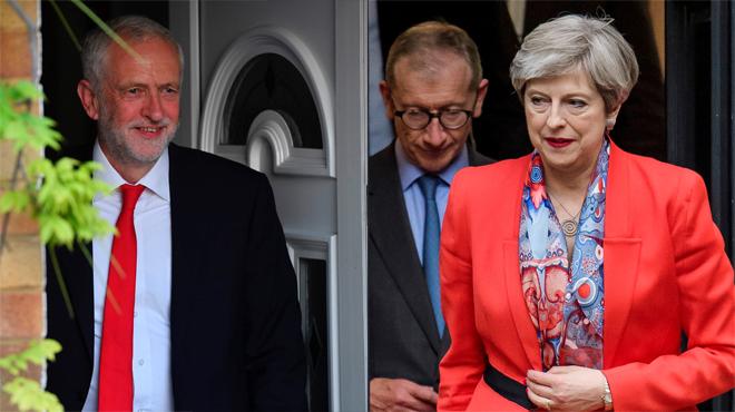 Els conservadors de Theresa May perden la majoria absoluta