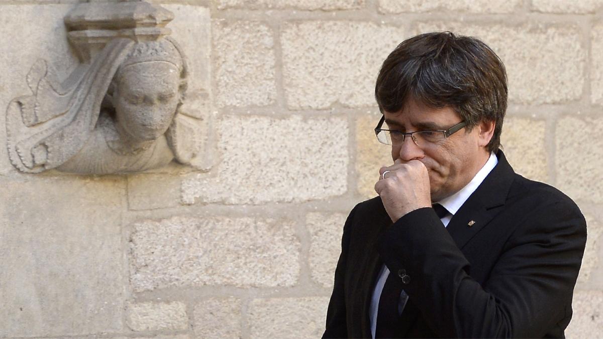 Puigdemont: El 1-O se hará el referéndum de autodeterminación que hemos convocado.