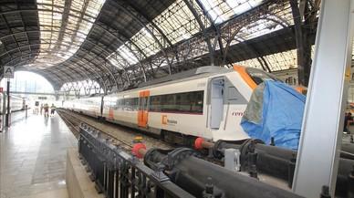 Las fotos del accidente de tren de la estación de França de Barcelona
