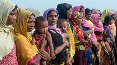 Les oenagés denuncien violacions de l'Exèrcit birmà a dones rohingyes