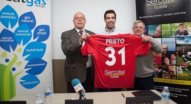 Alfonso Prieto, nuevo jugador de Catgas Energía Santa Coloma