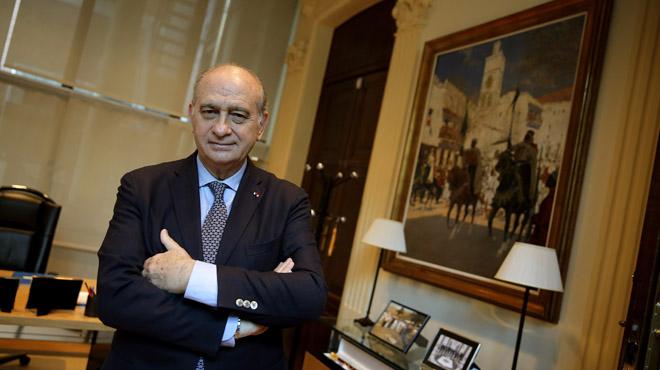 Jorge fern ndez d az espero que par s marque un antes y for Ministro del interior quien es