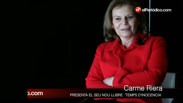 La escritora Carme Riera, publica la novela autobiográfica 'Tiempo de inocencia'.