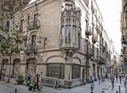 Edificio frente al Palau de la M�sica que Millet y Montull quer�an convertir en hotel.