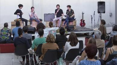 Concierto de Angolena Aline Frazao, en el centro c�vico de Albareda.