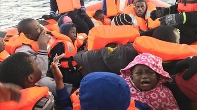 Cerca de 180 desaparecidos en el naufragio del sábado en el Mediterráneo