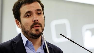 """Garzón ve """"precipitado"""" hablar de Errejón como candidato a presidir la Comunidad de Madrid"""