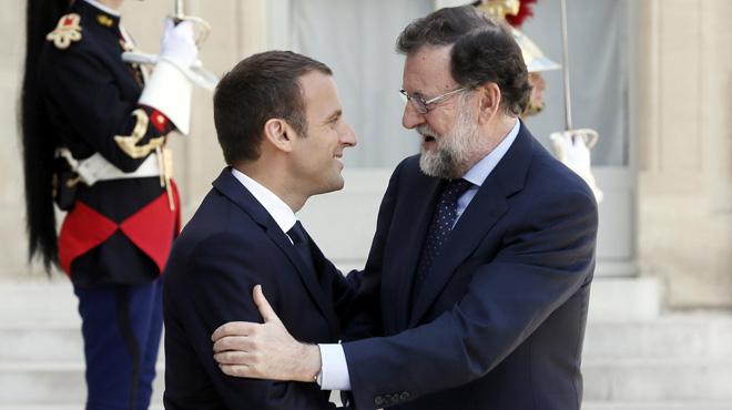 """Macron, sobre el referèndum: """"És un tema intern. Tinc un soci i és Espanya en conjunt"""""""