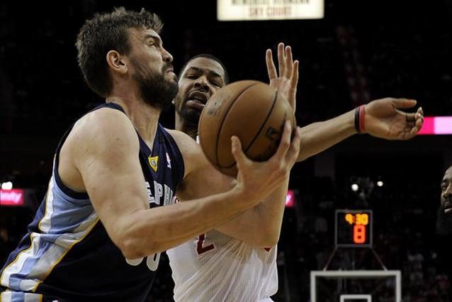 Cara y cruz de los Gasol en la NBA