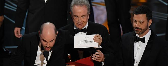 'Moonlight' da la sorpresa en los Oscar