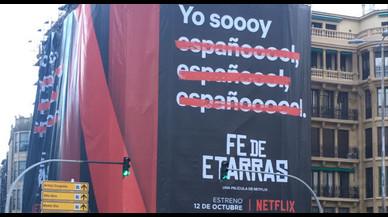 Netflix crea polémica con la promoción de 'Fe de etarras'