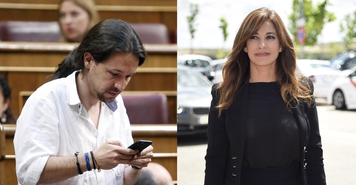 Pablo Iglesias y Maril� Montero.