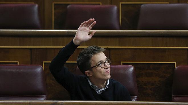 """Errejón sobre la fusió de Podem amb IU: """"Rotundament no"""""""