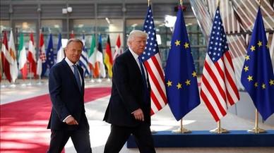 La UE y Estados Unidos chocan sobre Rusia, clima y comercio