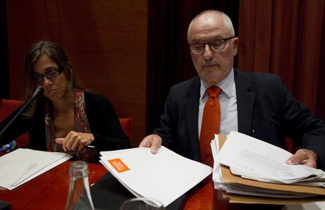 Rafael Ribó, en el Parlament. Foto de archivo.