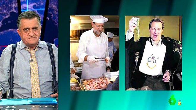 Alta gastronomia: suflé amb ganivets