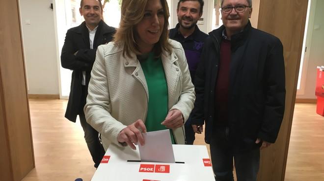 Díaz se repliega en Andalucía