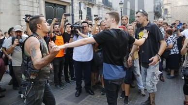La ultradreta treu profit de l'atemptat a Barcelona