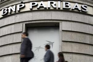 La seu de BNP Paribas a París.
