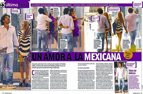 El semanario del Grupo Zeta ofrece un amplio reportaje grfico con la pareja en Miami.