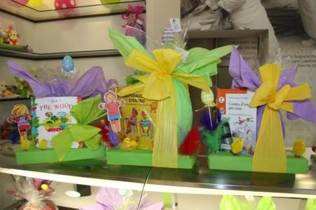 Los tradicionales dulces de Pascua que incorporan obras literárias para los más pequeños.