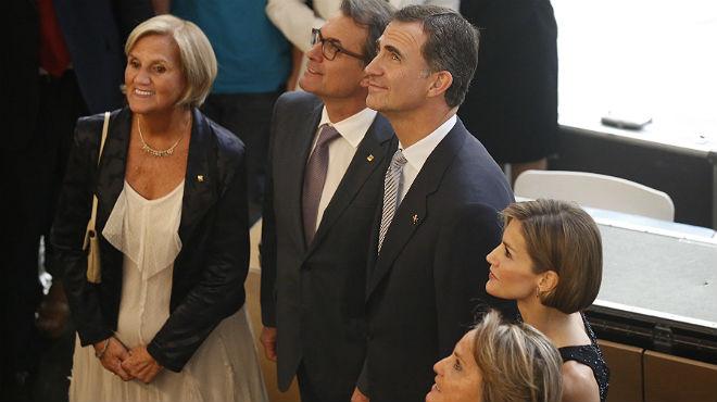 Los reyes Felipe y Letizia han visitado Girona este jueves.