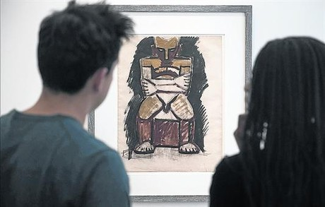 UN RECORRIDO1. El edificio del Museo Picasso de Par�s rehabilitado y a punto de su reapertura, ayer. 2. 'Le ch�vre', una escultura de 1950 creada en su estudio de Vallauris a partir de objetos encontrados y armados utilizando yeso.3. 'Femmes � leur toilette', uno de los 'papiers coll�s' que el genio malague�o realiz� entre 1937 y 1938. 4. 'Grand nu au fauteuil rouge', uno de los �leos que Picasso pint� en 1929 y que forman parte de la colecci�n permanente del museo. 5. Dos de los estudios preparatorios de 'Las se�oritas de Avignon', la pieza que marca el nacimiento del cubismo. 6. Una de las obras inspiradas en el arte primitivo que Picasso realiz� a lo largo de su carrera.