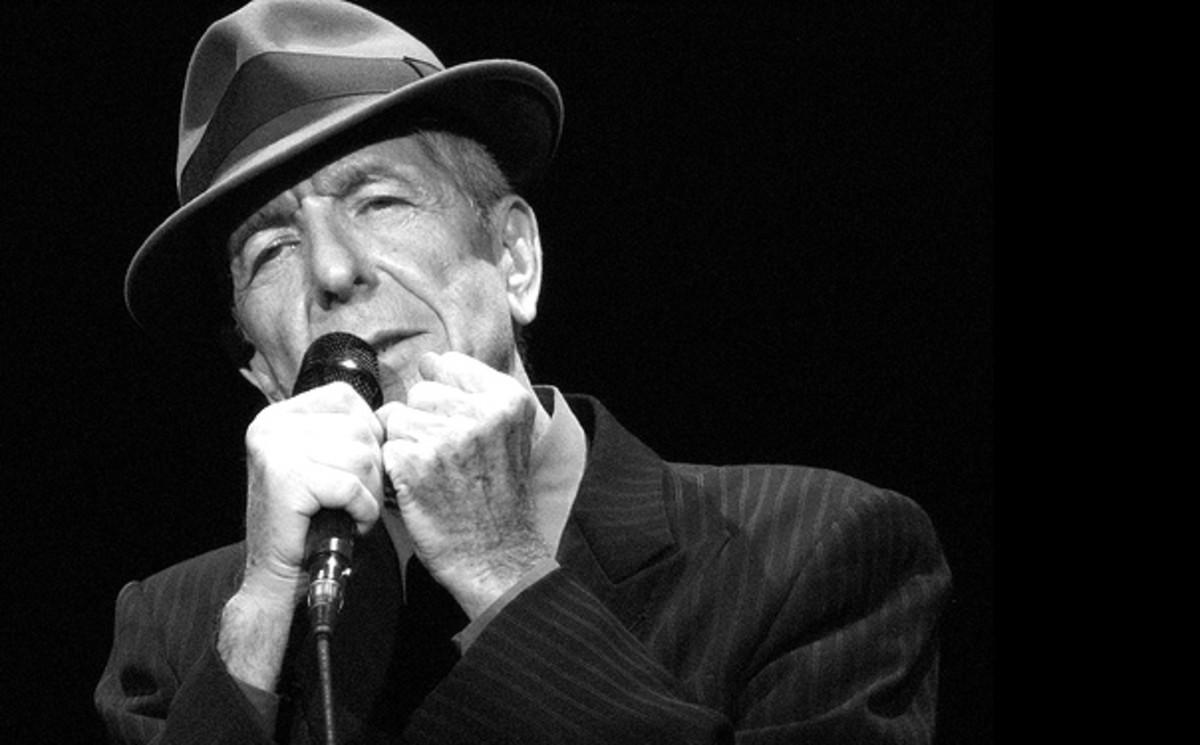 Leonard Cohen.