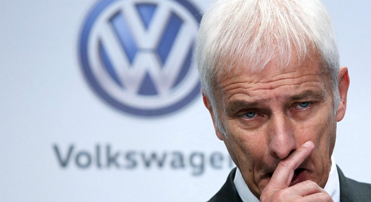 El consejero delegado de VW, Matthias Mueller.
