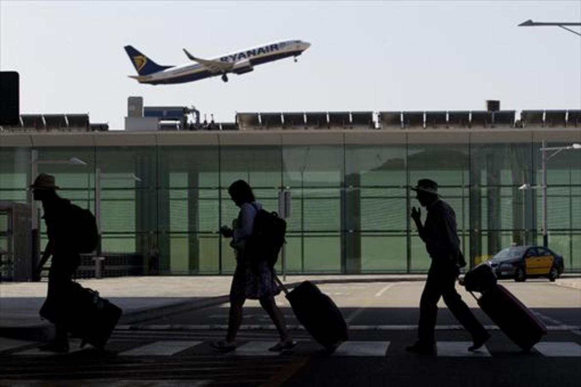 Un aspecto de la Terminal 1 del aeropuerto de El Prat.