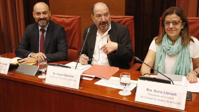 La fiscalía acusa de organización criminal por el 1-O a directivos de los medios de la Generalitat