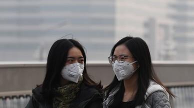 Una tempesta de sorra torna a cobrir Pequín d'una capa de pol·lució